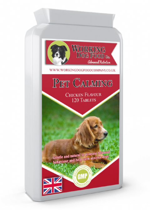 Pet Calming 120 Chicken Flavour Tablets